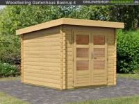 Karibu Woodfeeling Gartenhaus Bastrup 4