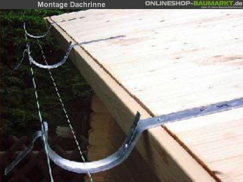 Dachrinne Montieren Flachdach : karibu dachrinne 4 65 m in grau f r flachdach gartenhaus ~ A.2002-acura-tl-radio.info Haus und Dekorationen