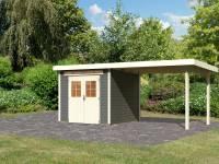 Karibu Gartenhaus Kerpen 2 terragrau