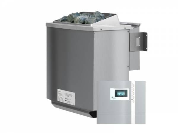 Karibu Bio-Kombiofen 4,5 kW mit externer Premium Steuerung