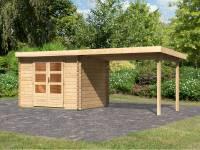 Karibu Woodfeeling Gartenhaus Bastrup 3 mit Schleppdach 3 Meter