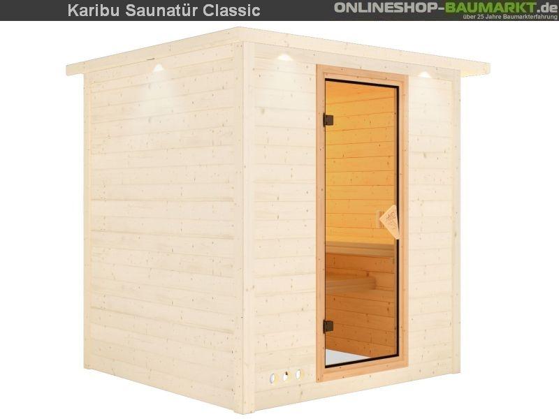 riesige woodfeeling massivholzsauna aus 38 mm starken wandbohlen schnelle montage durch einzeln. Black Bedroom Furniture Sets. Home Design Ideas