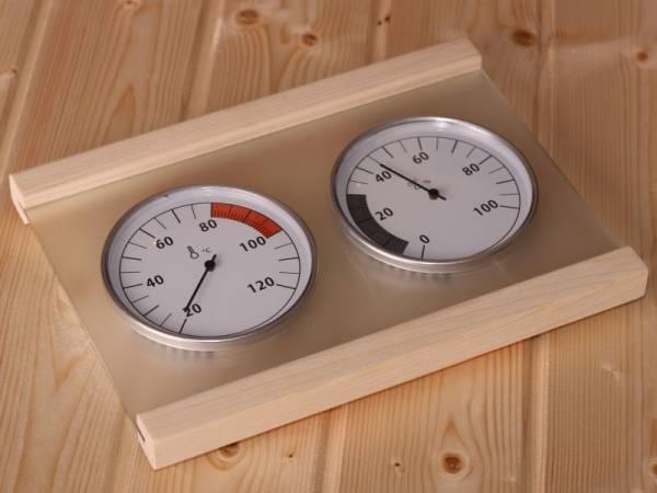 Karibu Sauna Klimamessstation Premium