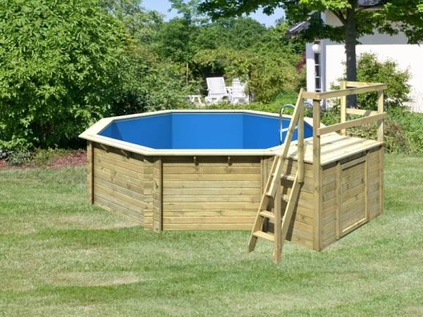 Karibu Pool Modell 2 Variante B im Sparset Superior
