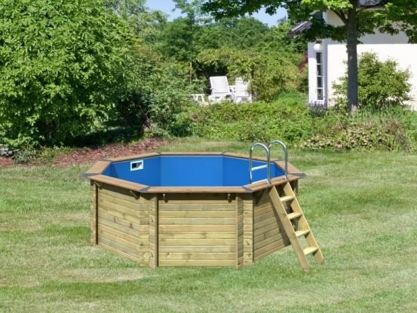 Karibu Premium Pool Modell 1 im Sparset Komfort