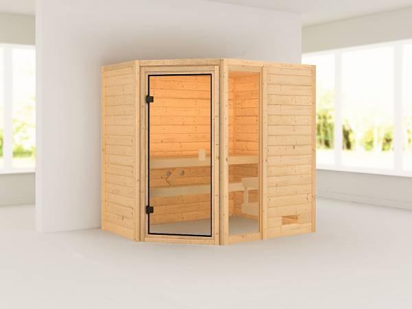 Karibu Woodfeeling Sauna Jada 38 mm