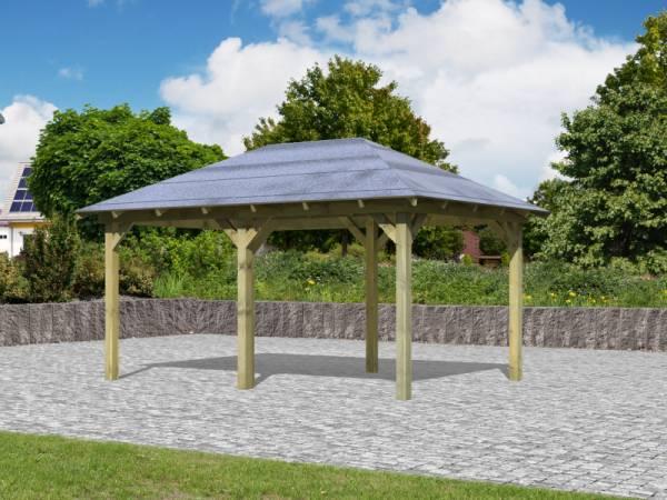 Karibu Aktions 4-Eck Pavillon Arcazia 1