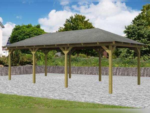 Karibu 4-Eck Aktions Pavillon Arcazia 2