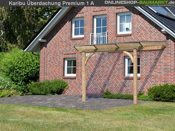 Karibu Terrassenüberdachung Premium Modell 1 Gr. A