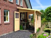 Karibu Gartenhaus Wandlitz 3 natur 19 mm