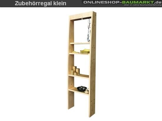 Karibu Sauna Zubehörregal - Holz