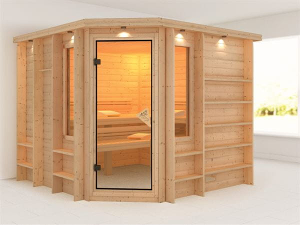 Marona - Karibu Sauna Premium ohne Ofen