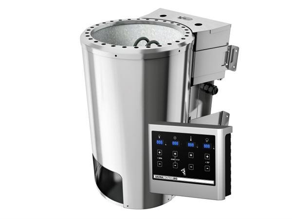 Karibu Bio-Kombiofen Plug & Play 3,6 kW externe Strg Easy Finnisch