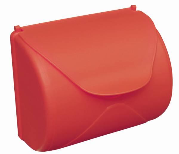 Akubi Briefkasten Kunststoff rot
