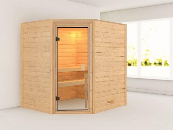 Karibu Woodfeeling Sauna Elea 38 mm