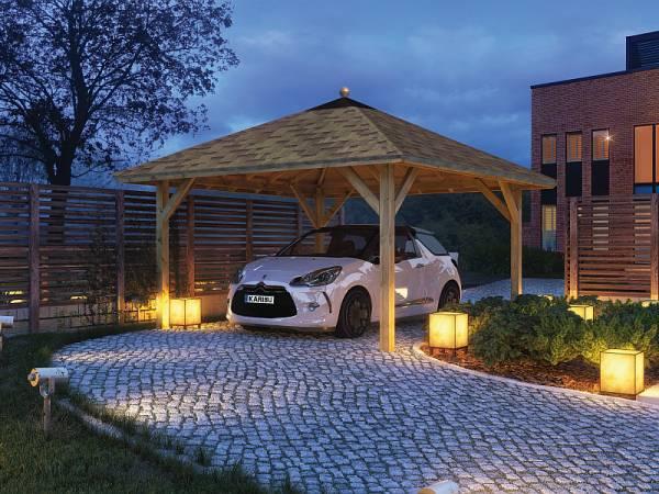 Karibu Pavillon-Carport Kirn 1 kdi