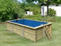 Karibu Rechteck Pool Größe 3