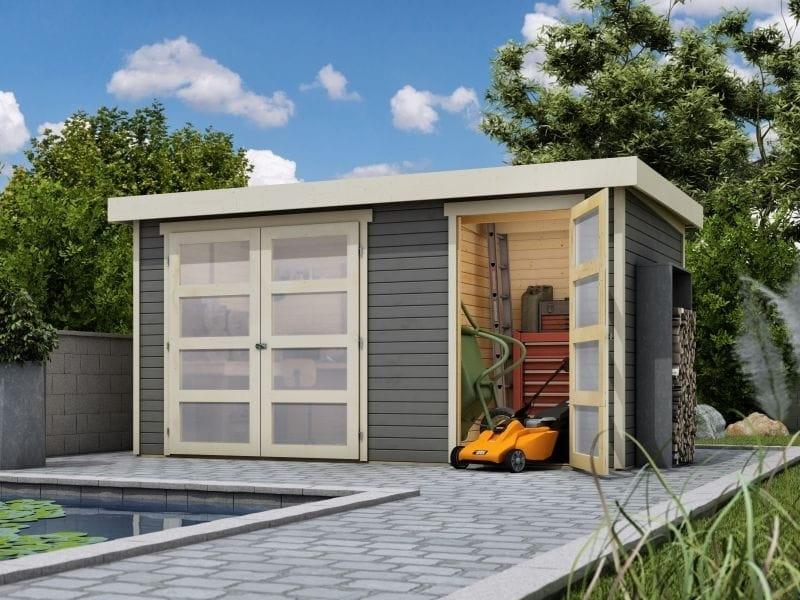 Karibu Systemhaus Mühlentrup terragrau 19 mm