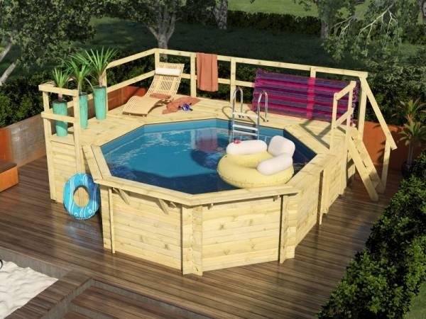 Karibu Pool Modell 1 Variante F
