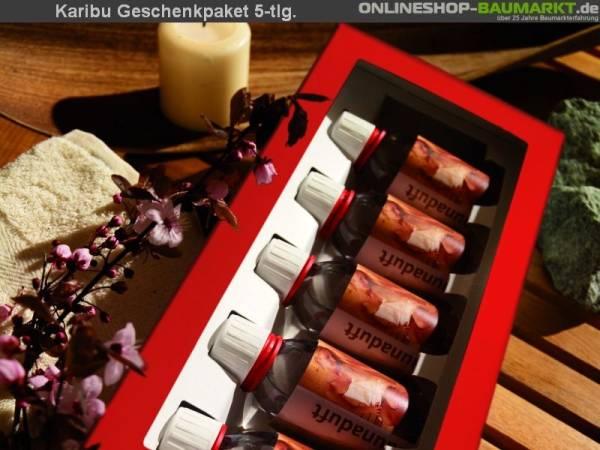 Karibu Sauna Geschenkpaket Aromadüfte