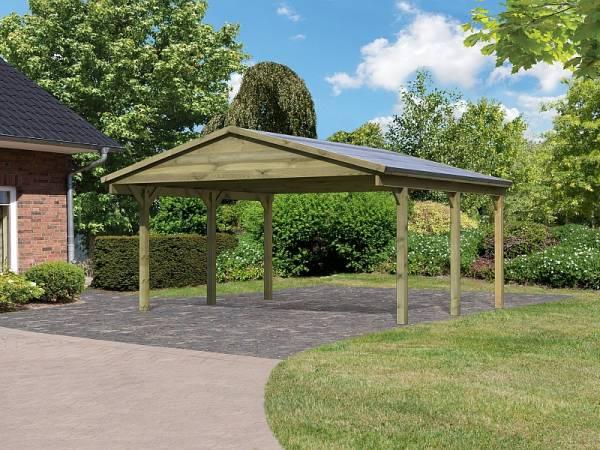 Karibu Classic Carport 1 Satteldach Doppel kdi