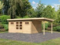 Karibu Woodfeeling Gartenhaus Bastrup 10 inkl. Fußboden