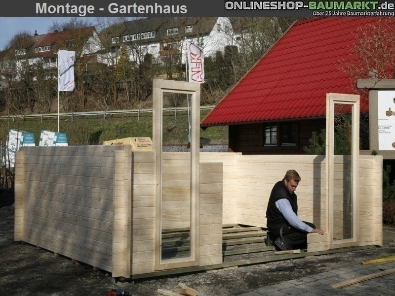 aufbauanleitung gartenhaus bergen my blog. Black Bedroom Furniture Sets. Home Design Ideas