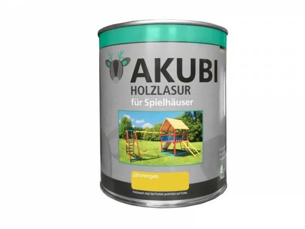 Akubi Farbe Zitronengelb 750 ml