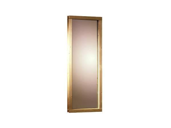 Karibu Fenster für 68 mm Sauna bronziert Iso-Glas