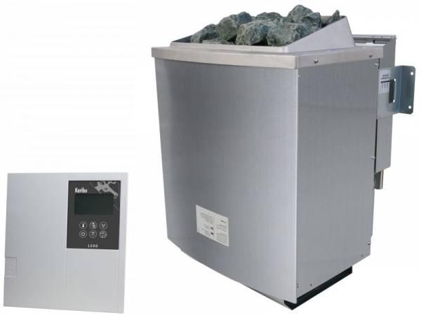 Karibu Bio-Kombiofen 9,0 kW externe Steuerung Classic und Steine