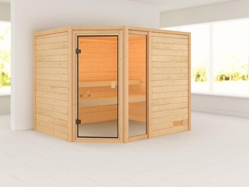 Karibu Woodfeeling Sauna Lola 38 mm