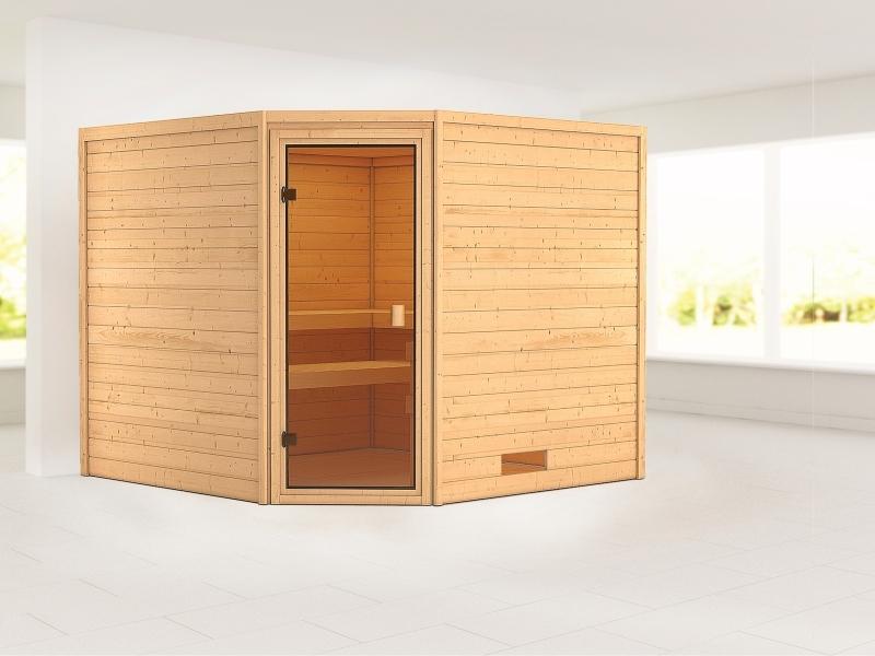 Karibu Woodfeeling Sauna Dalia 38 mm