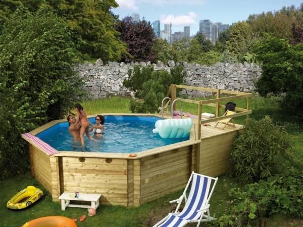 Karibu Pool Modell 2 Variante C